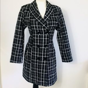 STYLEWE Tweed Coat women's sz Large New With Tags